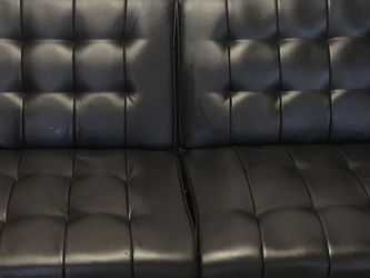 Leather Futon for Sale in Alexandria,  VA