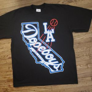 LA DOPEBOYS THE BEST OF THE WEST BLACK ADULT ( ( X LARGE) T-SHIRT PRE-OWNED IN GOOD CONDITION for Sale in Carson, CA