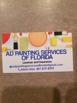 Se ofrece servicio de pintura for Sale in Kissimmee, FL