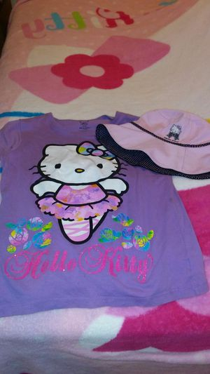 HELLO KITTY A HAT & SHIRT 14/16 U CAN BUY TOGETHER OR SEPERATE 2$ EACH for Sale in Baltimore, MD
