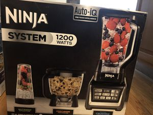 Ninja auto iq system 1200 watts (price is firm) for Sale in Boston, MA
