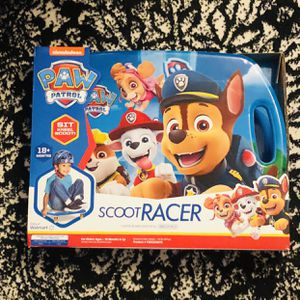 New Paw Patrol Scoot Racer for Sale in Indio, CA