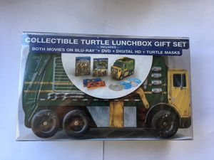 Teenage mutant ninja Turtles lunch box Blu ray Movie 1 and 2 for Sale in Anaheim, CA