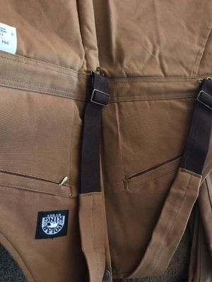 Polor King Insulated Bib Brown Duck Overalls for Sale in Chandler, AZ