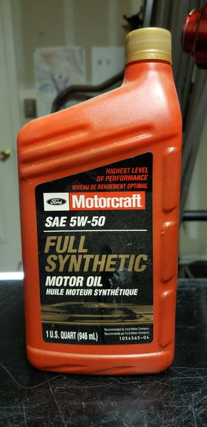 Synthetic motor oil 5w-50 for Sale in Fresno, CA