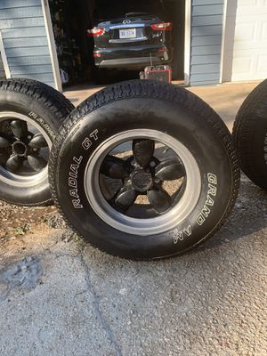"""14""""inch rims & tires like new for Sale in Decatur, GA"""