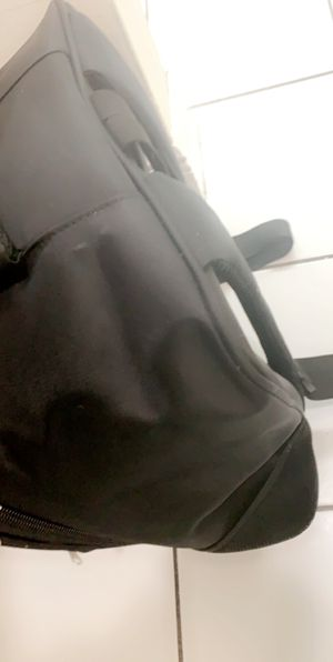 All black backpack like new it's kind of squarish so I don't know if it used to be for a drone or what but yeah for Sale in Miami, FL