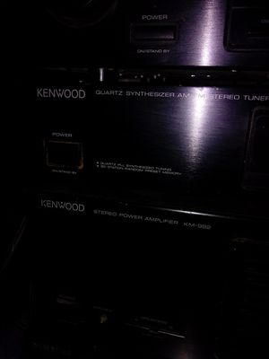 Kenwood component stereo system for Sale in Kingsport, TN