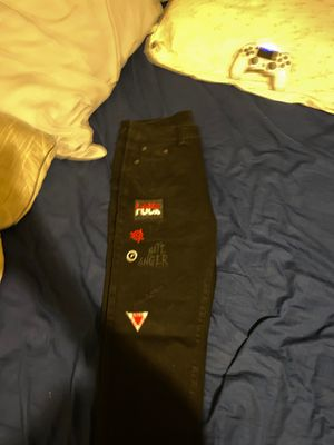 Nice jeans with patches for Sale in Cave Creek, AZ