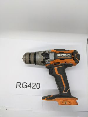 Rigid 18-Volt Lithium-ion Cordless 1/2 in. Hammer Drill/Driver - Tool Only for Sale in West Sacramento, CA