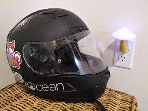 XS/SMALL Bestickered Motorcycle Helmet for Sale in Seattle, WA