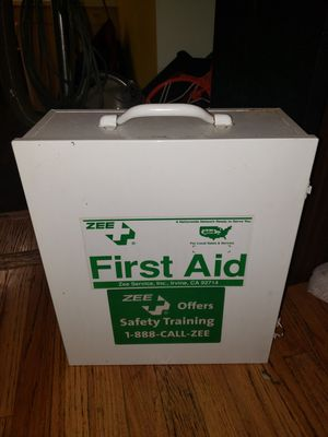 $100 3 Shelf industrial 1st aid cabinet for Sale in Indianapolis, IN