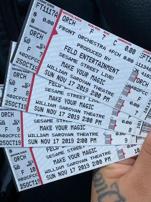 Sesame Street live for Sale in Fresno, CA