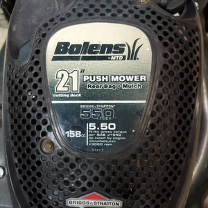 "21"" Bolens Push Mower By MTD for Sale in Glendora, CA"