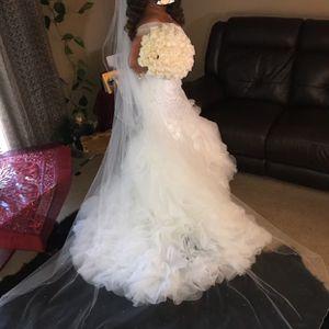 Wedding Dress For Small Or Medium Size for Sale in Marietta, GA
