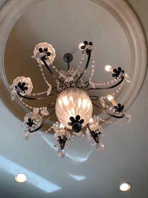 Beautiful elegant chandelier- for Sale in Dallas, TX
