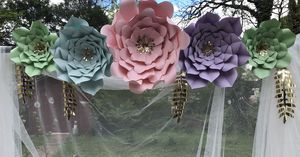 Pastel paper flowers 🌺 for Sale in Sudley Springs, VA