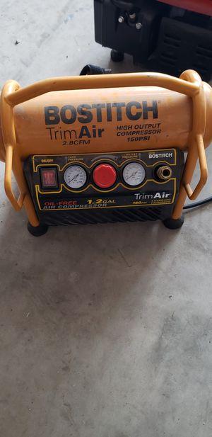 Bostitch air compressor for Sale in Pekin, IL