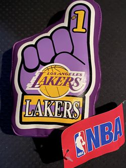 Lakers Vintage Collectible Plush Foam Finger for Sale in Los Angeles,  CA