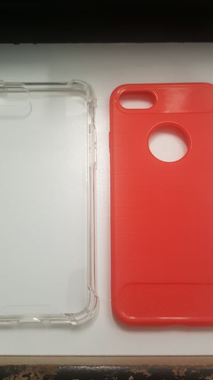 """2 cases for iphone 7/8 4.7"""" not plus color red new 7firm shiping only for Sale in Phoenix, AZ"""
