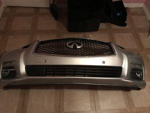Infiniti Q50 Bumper complete for Sale in Miami, FL