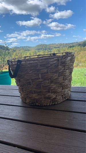 decorative basket / clothes basket for Sale in Crawford, WV