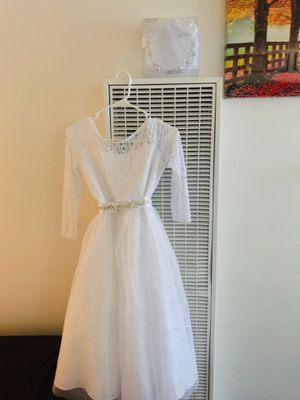 A special Event White dress size 16 for Sale in Downey, CA
