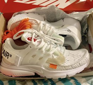 Off white nike prestos woman's 8.5 for Sale in Staten Island, NY