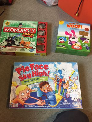 Kids board games for Sale in Frederick, MD