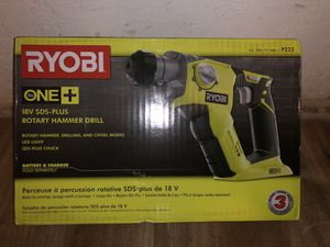 RYOBI 18-Volt ONE+ Lithium-Ion Cordless 1/2 in. SDS-Plus Rotary Hammer Drill (Tool Only) for Sale in Phoenix, AZ