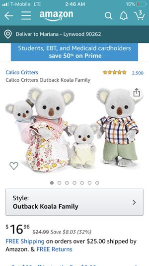 Calico critters for Sale in Long Beach, CA