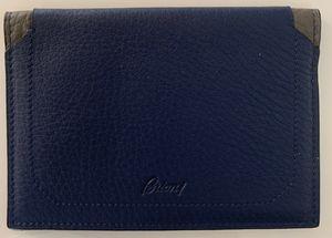 Brioni blue leather passport holder for Sale in Edison, NJ