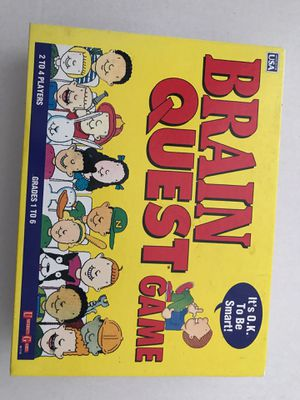 Brain Quest Game grades 1-6(2-4 players) ages 6-12 for Sale in Palm City, FL