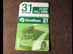 bus pass $20 for Sale in Upland, CA
