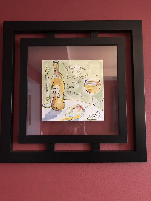 Wine Pictures With Decorative Frames