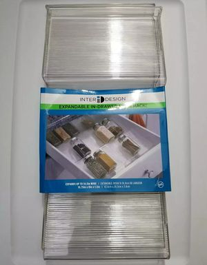 Expandable Plastic Spice Rack, Adjustable Clear for Sale in HALNDLE BCH, FL