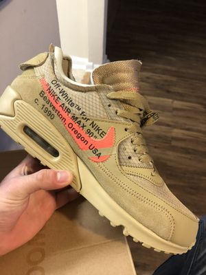 Off white air max 90 size 9.5 for Sale in Ashburn, VA