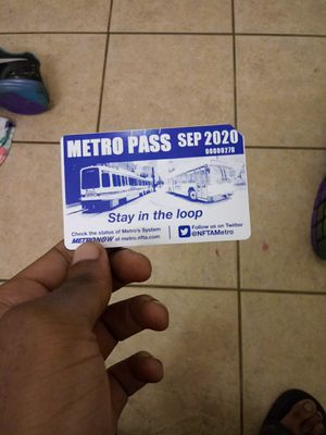 Sep 2020 metro pass for Sale in Buffalo, NY