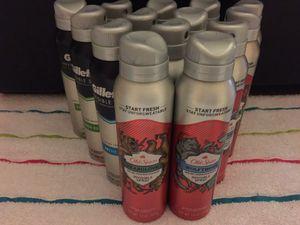 Old Spice or Gillette Sprays for Sale in Spring, TX
