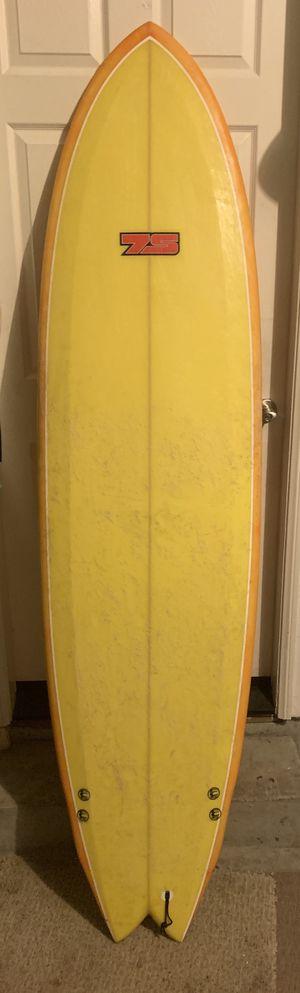 "7'3"" Super Fish Tri-Fin Surfboard for Sale in San Marcos, CA"