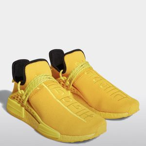 Pharrell Extra Eye Yellow Adidas NMD Hu Size 12 for Sale in Hanford, CA