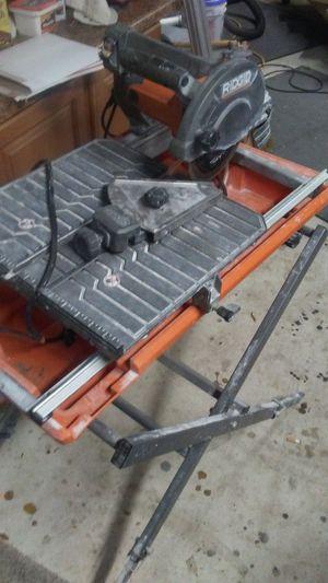 Rigid tile saw for Sale in Altamonte Springs, FL