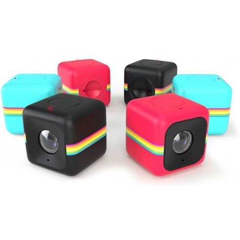Polaroid cube action cam (blue