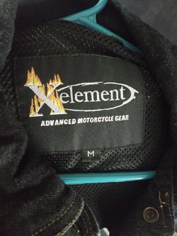 New armored denim motorcycle vest for Sale in Everett,  WA