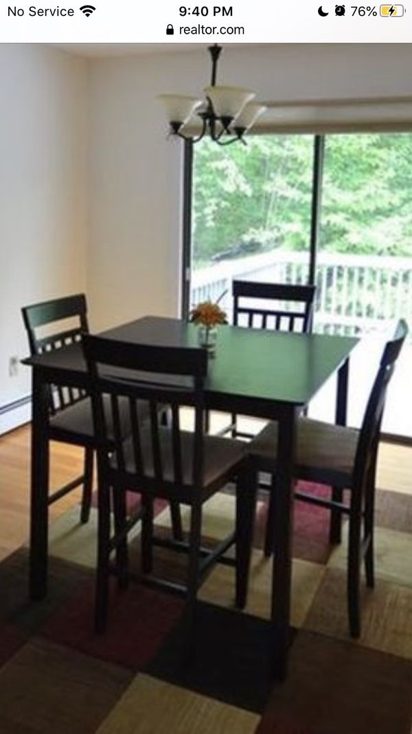 Coaster Home Furnishings 5 Piece Counter Height Dining Set