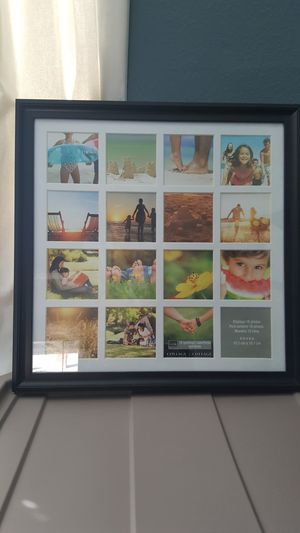 Frame for 4x4 pictures for Sale in Fontana, CA