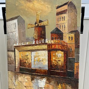 Moulin Rouge painting for Sale in Murrieta, CA