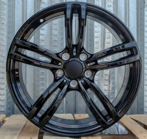 "19"" BMW 437m style M3 M4 wheels rims gloss black set of 4 for Sale in Hayward, CA"
