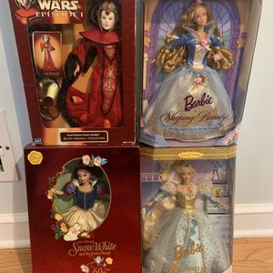 Vintage Barbie And Star Wars Figures Dolls for Sale in Chicago, IL