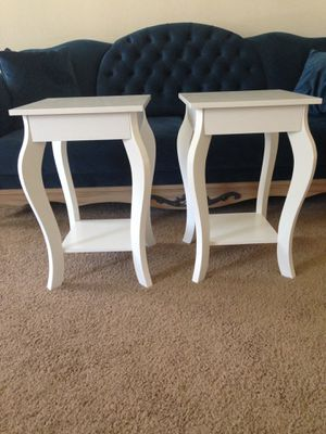 2 end table, side table set for Sale in Hampton, VA